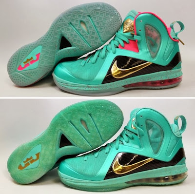 nike lebron 9 ps elite statue of liberty pe 4 00 It Takes $12,900 To Own Two Pairs of Rare LeBron 9 PS Elite PEs