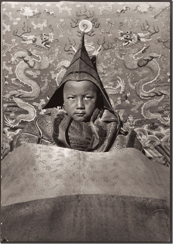 The young Living Buddha of Guya ruled a Tibetan monastery in 1927.