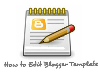 How to edit blogger template
