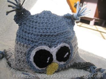 baby boy owl hat (5)