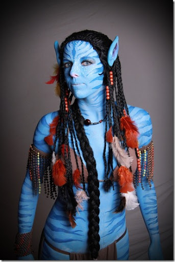 Disfraz de avatar disfraz casero de avatar