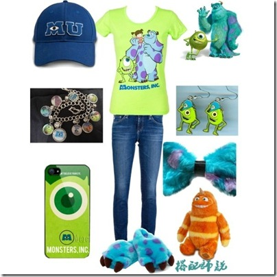 Monster University Inspired Mix and Match 07