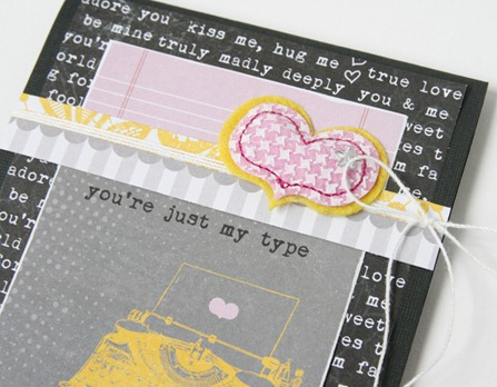Gretchen McElveen_You are just my type card_close up