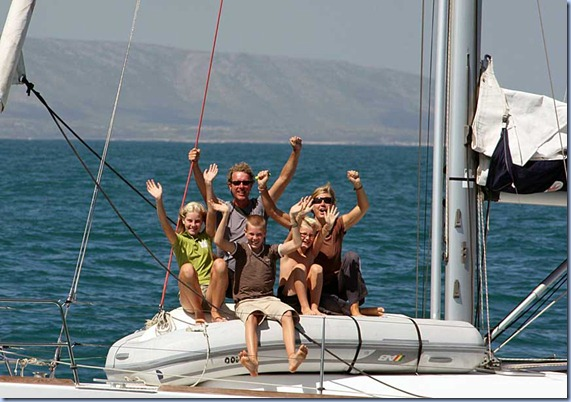 Rounding Cape Agulhas