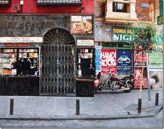 Libreria Perez Galdos-Jose-Luis-Corella-ENKAUSTIKOS