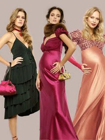 Vestidos de Fiesta Largos para Embarazadas6