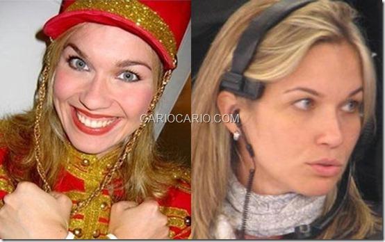 Andrezza Cruz, a Bocão, não saiu do lado de Xuxa. A ex-paquita hoje é diretora do programa 'TV Xuxa', na Globo