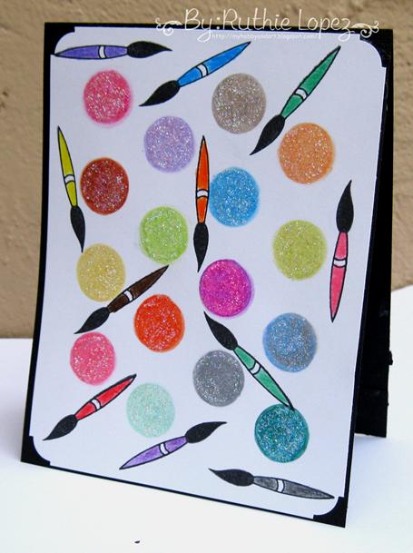 Color Paws - Colores - Ruthie Lopez DT