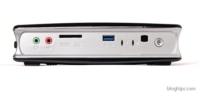 ZOTAC ZBOX ID90   Conectividad Frontal