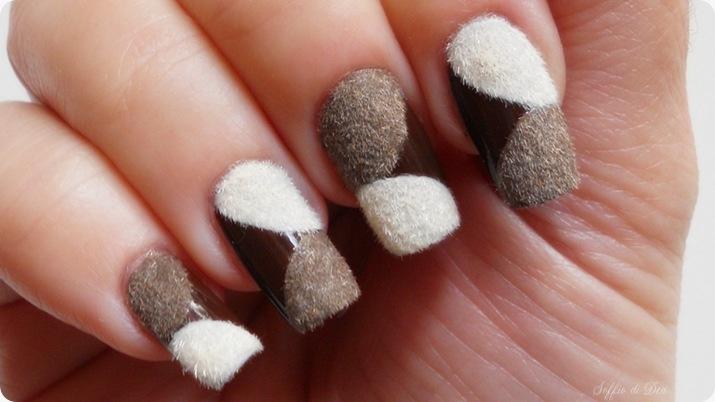 fluffy velvet nail art pupa -12