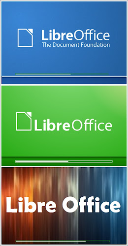 spash screen di LibreOffice