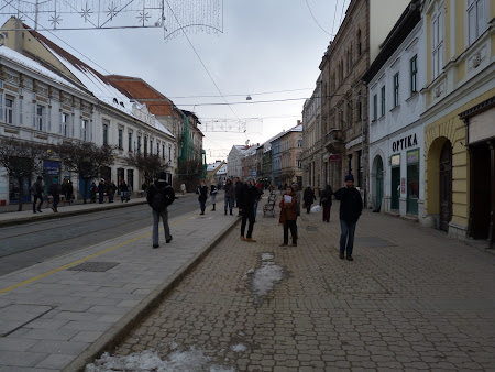 Excursie Ungaria: centru Miskolc