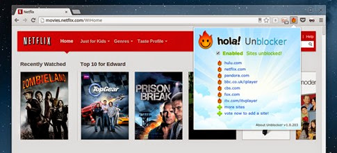 Accede al contenido de Netflix, Hulu o Pandora desde cualquier lugar del mundo