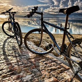 Parked  by Ferdinand Ludo - Transportation Bicycles ( bali, indonesia, sanul beach, , Bicycle, Sport, Transportation, Cycle, Bike, ResourceMagazine, Outdoors, Exercise, Two Wheels )