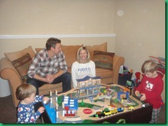 family train table