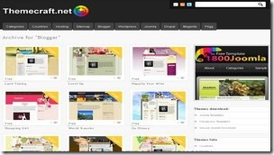 top 20 free blogger templates sites 09 Themecraft