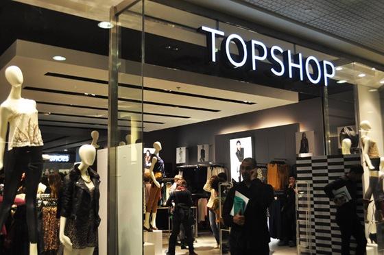 Topshop abre loja em São Paulo no shopping JK Iguatemi no mês de abril / 2012.