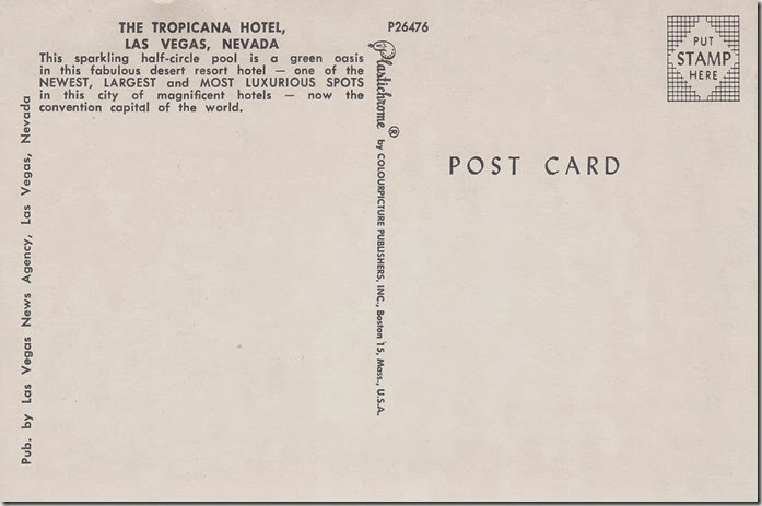 The Tropicana Hotel, Las Vegas, Nevada pg. 2