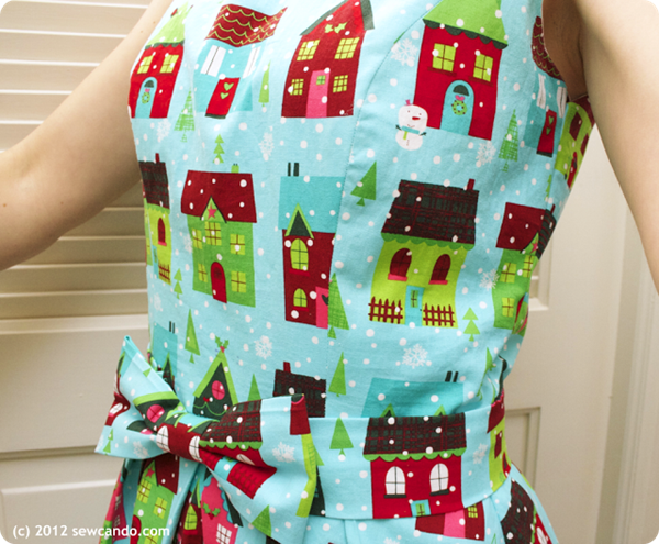 Holiday Dress Sew Can Do Bodice