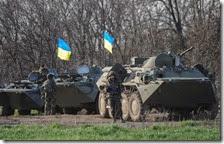 Carri armati in Ucraina