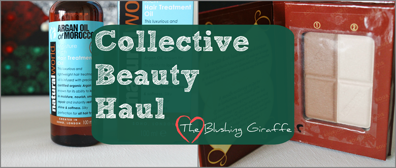 collective beauty haul