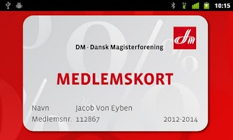 Screenshot of DM Procent