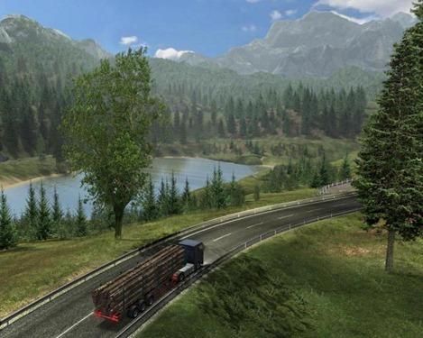 Juegos de Camiones Austrian Truck Simulator gameplay