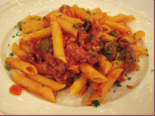 picture Penne with Tomato and Porcini Mushroom Sauce Recipe