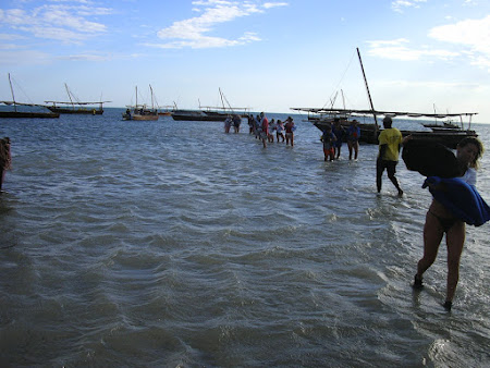 Excursii Zanzibar: debarcarea in Fumba