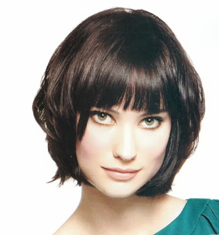 model rambut untuk wajah lonjong 2013