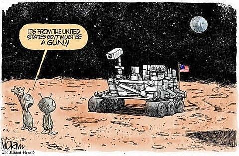 Марсиане и Curiosity
