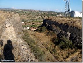 Foso del fuerte de Santa Quiteria - Huesca