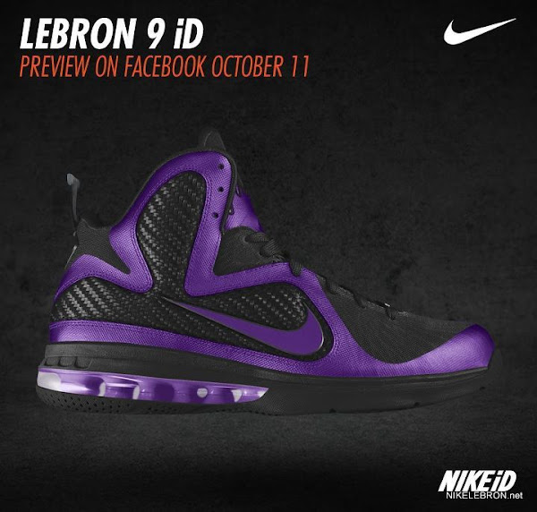 Nike LeBron 9 iD Six More Example Colorways
