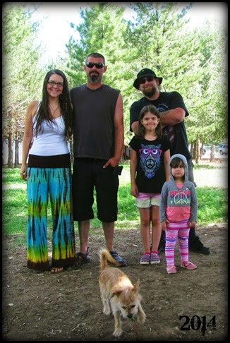 Family with Barbarian