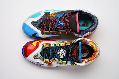 nike lebron 11 xx what the lebron 1 17 Nike Basketball Shares New What The #@*% Designs for LBJ & KD