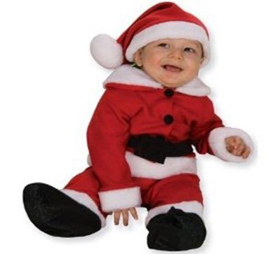 disfraz para navidad de papa noel