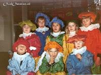 Sinterklaasfeest met de witte pieten in groep 1