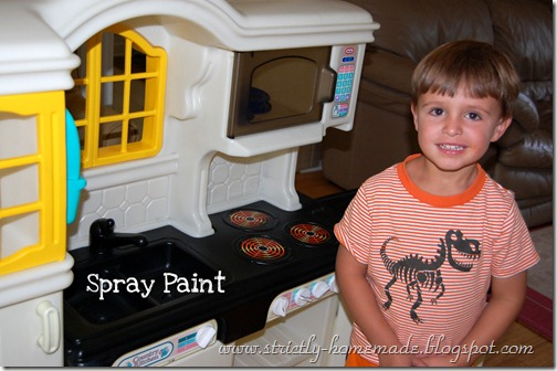 Spray Paint Top Surface