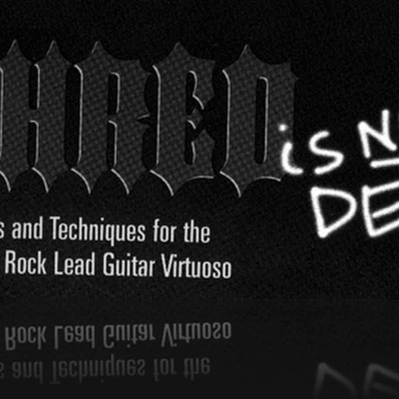 Shred is not Dead - mejora tu tecnica de guitarra electrica