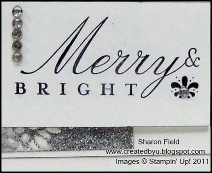 CAS, Bling, rhinestones, creative-sketches, sharon_field, get_well, square_lattice, big shot, northern_flurry, dasher, Holiday, Christmas, sharon_Field, createdbyu_blogspot