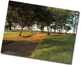 Praça do Cemitério Laranjal Pta