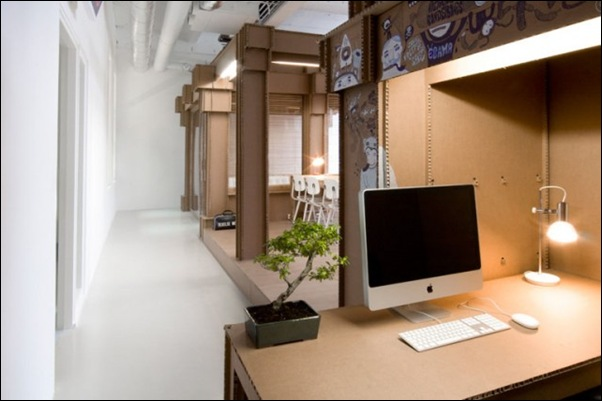 Des bureaux en carton (9)