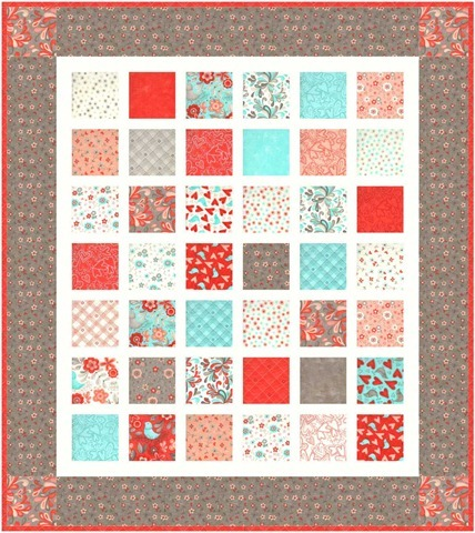 Bugged Out charm quilt pattern