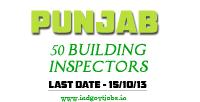 Punjab Building Inspector Jobs 2013