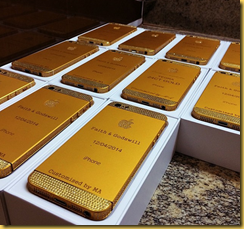 iphone de ouro
