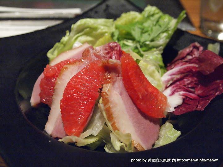 燻鴨鮮柚沙拉
