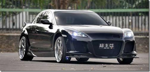 mazda rx8 black modified. mazda rx8 black modified