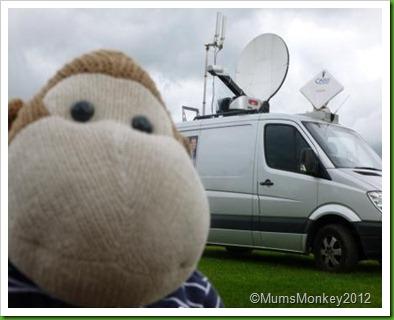 Sky News Van