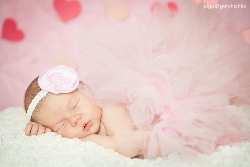 Фотосессия новорожденной в Гродно. Ксюша 2 недели_-6