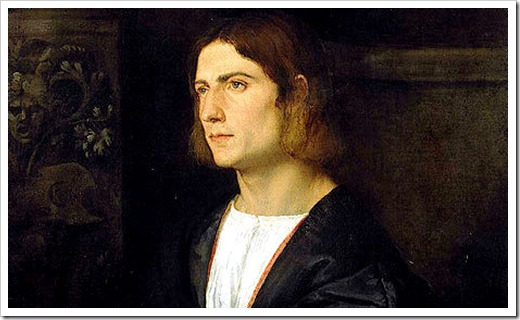 Portrait-of-a-Young-Man Titian